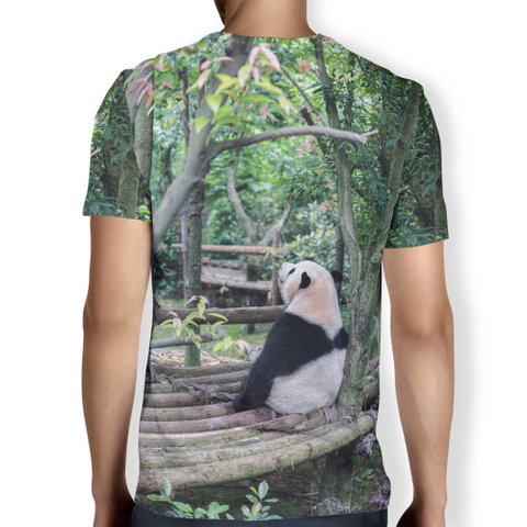 Image of Panda Chill Men's T-shirt