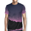 Pink Night Men's T-Shirt S / Purple