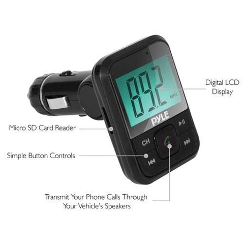 PYLE Bluetooth® FM Transmitter