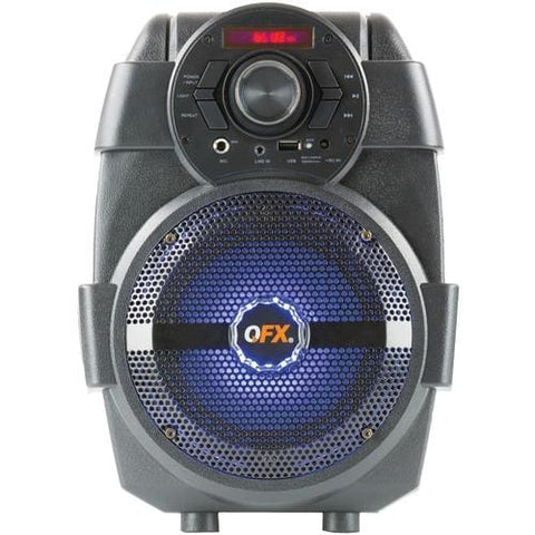 QFX 1500-Watt Rechargeable Bluetooth® Party Speaker