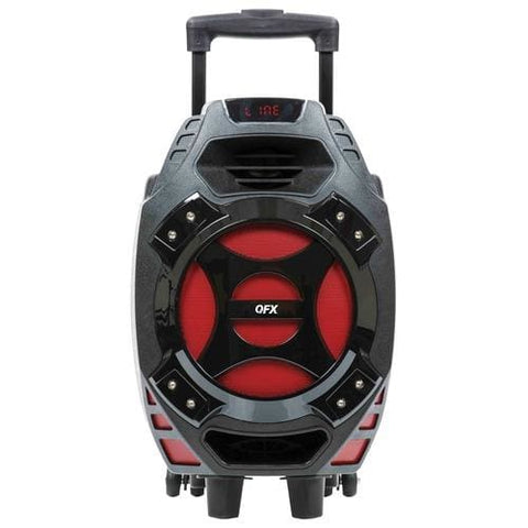 Image of QFX 8 Woofer Battery Powered Party Speaker Bluetooth Speaker