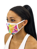Rainbow Prism Face Mask With Filter Pocket S/M / Multicolored