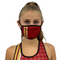 San Francisco Face Mask Filter Pocket S-M / Red