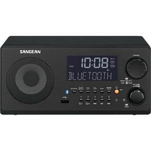 SANGEAN® FM-RBDS/AM/USB Bluetooth® Digital Tabletop Radio with Remote Bluetooth Radio