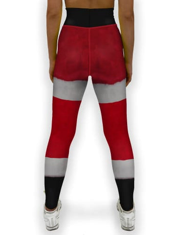 Santa Suit Christmas Jean Legging