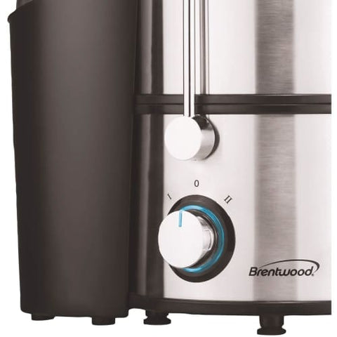 Stainless Steel 2-Speed 700w Juice Extractor with Graduated Jar Juicer