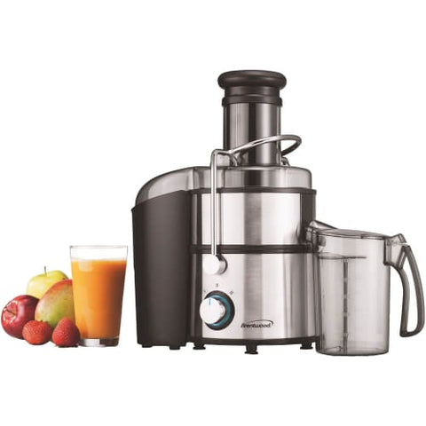 Stainless Steel 2-Speed 700w Juice Extractor with Graduated Jar