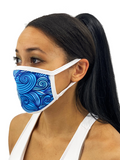 Thrashing Oars Face Mask With Filter Pocket S/M / Multicolored