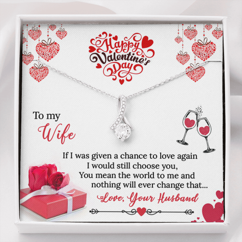 Image of Alluring Beauty Valentine's Day Necklace Standard Box Jewelry