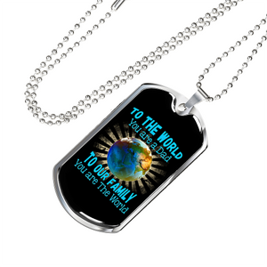 To The World Luxury Dog Tag Jewelry