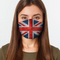 UK Flag Face Cover S / Multicolored