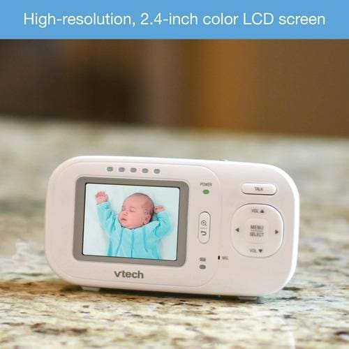 Vtech 2.4 Full-Color Digital Video Baby Monitor & Automatic Night Vision Baby Monitor