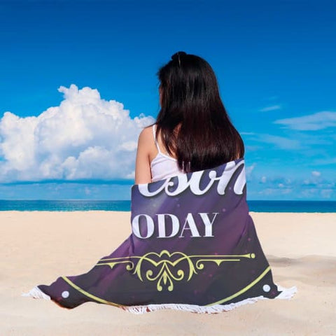 Yesterday is Gone - Round Beach Blanket Beach Blanket