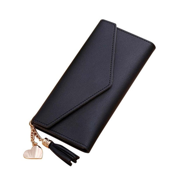 Xiniu Women's Luxury Black wallet