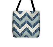 Blue Modele I Tote Bag