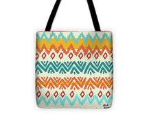 Navajo Mission Round Tote Bag