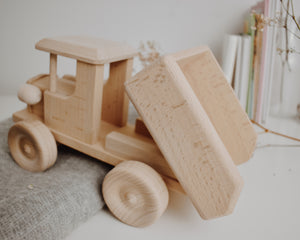 Wooden Construction Truck