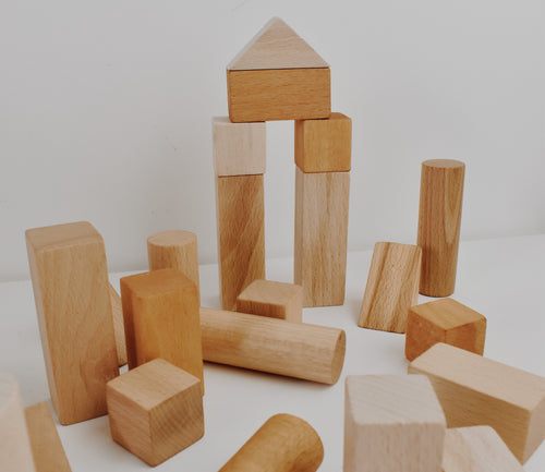 Bubble's Wooden Building Blocks