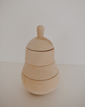 Wooden Pear Stacker