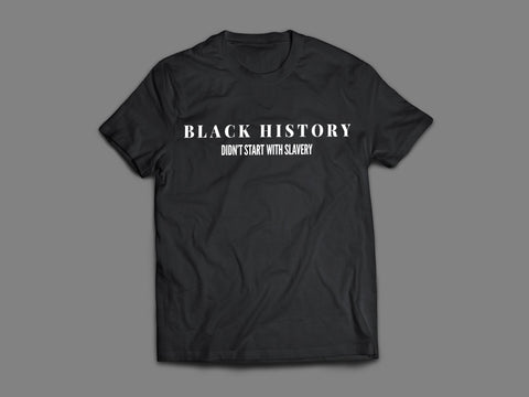 """Black History"" Classic T-Shirt - Social Theory Apparel"