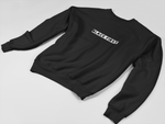 """Black First"" Crewneck Sweatshirt - Social Theory Apparel"
