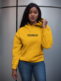 Classic Fit Gold Unisex Hoodie With Black First Design Online 2020