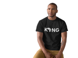 """Black King"" Classic T-Shirt - Social Theory Apparel"