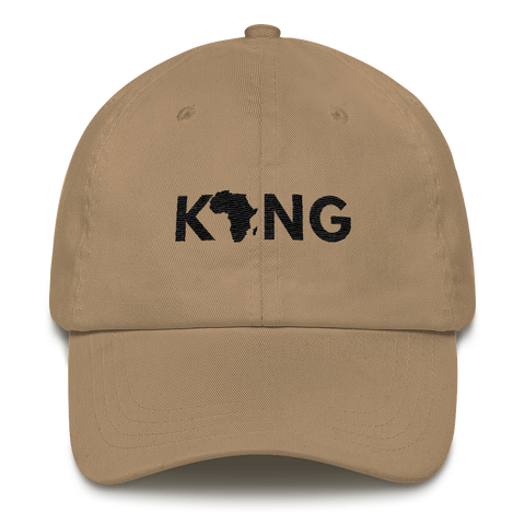 Best Classic Fit Men's Dad Hat With King Embroidered Design 2020