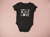 """Product of Black Love"" Onesie - Social Theory Apparel"