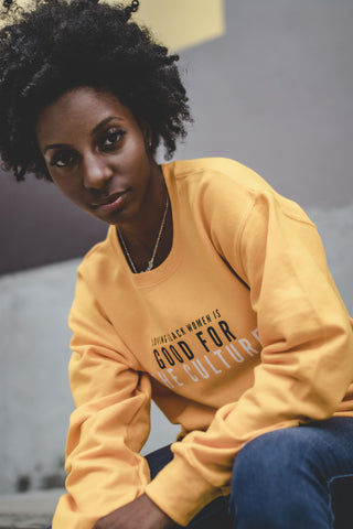 """Loving Black Women"" Crewneck Sweatshirt - Social Theory Apparel"