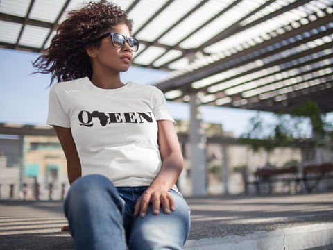 Best O_ Neck Unisex T- Shirt With Black Queen Design 2020