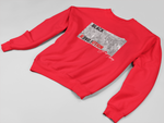 Classic Fit High Quality Unisex Crewneck Sweatshirt In Red Online