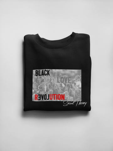 High Quality Black Revolution Unisex Crewneck Sweatshirt Online