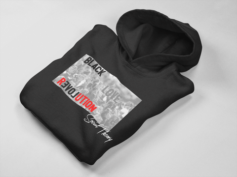 """ReLove"" Classic Fit Hoodie - Social Theory Apparel"