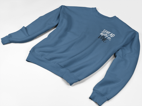 """Spread More Love"" Crewneck Sweatshirt - Social Theory Apparel"