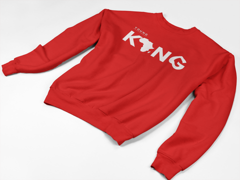 """Young King"" Crewneck Sweatshirt - Social Theory Apparel"