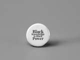 Black Pride Buttons - Social Theory Apparel