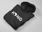 """Black King"" Classic Fit Hoodie - Social Theory Apparel"