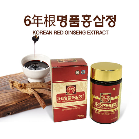 고려 6년근 명품홍삼정 240g | Korean Red Ginseng Extract 240g