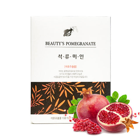 석류미인 석류추출물 100% 파우더 90g (3g x 30ea) | BEAUTY'S POMEGRANATE EXTRACT POWDER 90g (3g x 30ea)