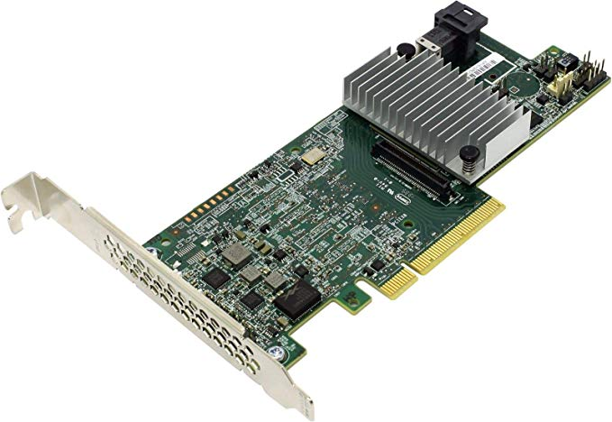 LSI 9361-4i MegaRAID SAS PCI-Express 3.0 x8 SATA / SAS High Performance Four-Port 12Gb/s RAID Controller Card