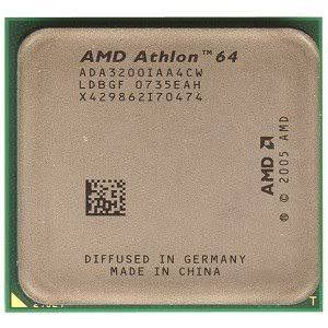 AMD Athlon 64 3200+ ADA3200IAA4CW 2.00GHz Socket AM2 512KB Cache 2.0GHz FSB Desktop Processor