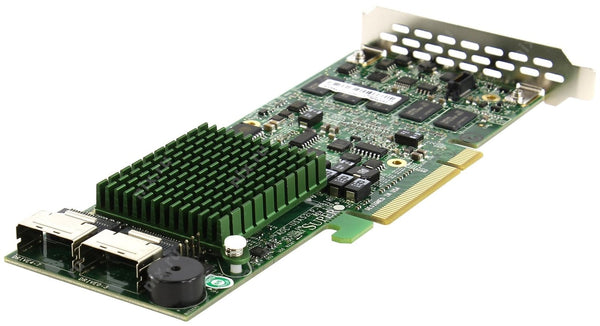 Supermicro AOC-USAS2LP-H8IR (8 Channel) SAS Low Profile 600 MBps RAID 0, 1, 5, 6, 10, 50, 60 PCI Express Raid Storage Controller.