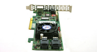 Areca ARC-1883i 8-Port Internal PCIe 3.0 x8 12Gb SATA/SAS RAID Controller Card.