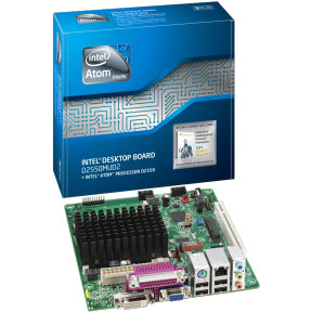 Intel BOXD2550MUD2 Atom D2550 Mini-ITX LVDS, Mini PCI-E Motherboard Box.