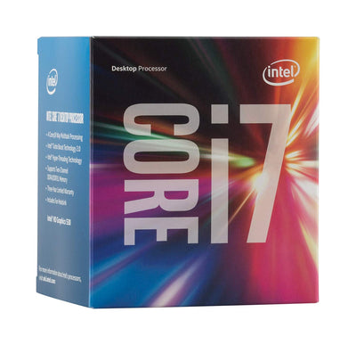 Intel Core i7-6700 8M 3.4 GHz Socket LGA 1151 65W QC HD Graphics 530 (SR2BT / SR2L2) Desktop Processor including Cooling Fan - BX80662I76700