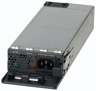 Cisco / Liteon / Delta 715W Catalyst 3K-X (Liteon# PA-1711-1-LF / Delta# EDPS-715AB F ) C3KX-PWR-715WAC  AC Power Supply