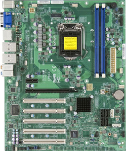 Supermicro C7H61-L Core i7 LGA1155 DDR3 SATA3 RAID GbE Audio PCIe ATX Server Motherboard