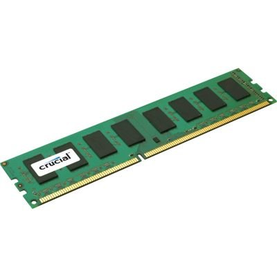 Crucial 2GB 240Pins DDR3-1333 PC3-10600 CL=9 Unbuffered ECC 1.5V 256Meg x 72 Memory - T25672BA1339.18FG.