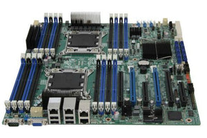 Intel DBS2600CO (PBA# G29920-205) SSI EEB  LGA2011 Socket 2 CPUs supported C600-A  FireWire 4 x Gigabit LAN Graphic Server Motherboard.